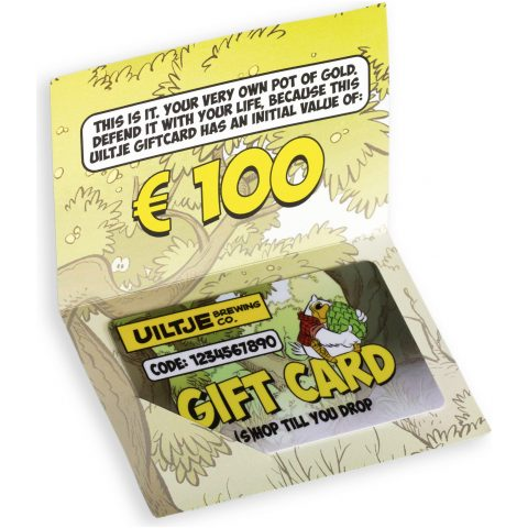 Uiltje- Giftcard- €100